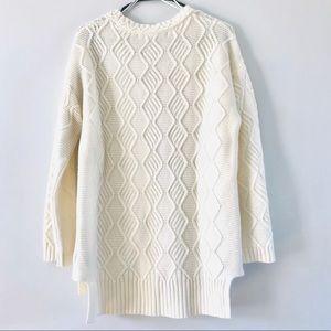 Max Studio Sweaters - Max Studio Cream Knit Sweater - Wool Blend